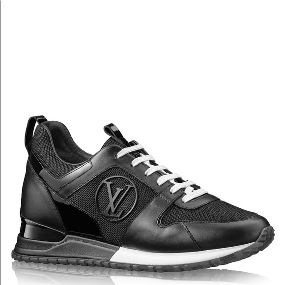 f8a7073c4f54 Louis Vuitton Shoes - Louis Vuitton Black Run Away Sneakers Shoes